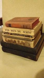 Komplet - 8 starih knjiga na njemačkom jeziku