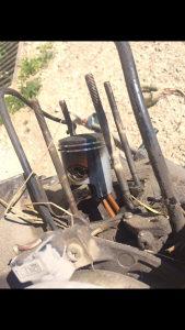 Klip karike i cilindar(stublina)42 mm aprilia yamaha