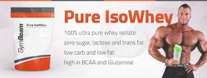 IZOLAT whey Protein Pure IsoWhey - GymBeam