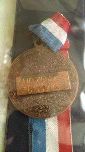 Medalja kup zrak 1989 subotica
