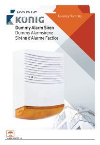 Vanjska lažna Alarm sirena sa Bljeskalicom 4.5 V