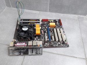 Maticna ploca Asus P5P43TD PRO   Procesor Q9550