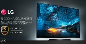 "LG TV 43"" 43UK6200PLA SMART WiFi 4K ultraHD / 5 god.gar"