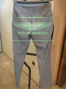 """MUŠKE (golf) PANTALONE """"Aston Martin  S"""" br: 32/33"""