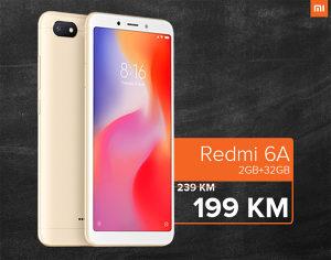 XIAOMI REDMI 6A / 2GB RAM / 16GB ROM / DUAL SIM