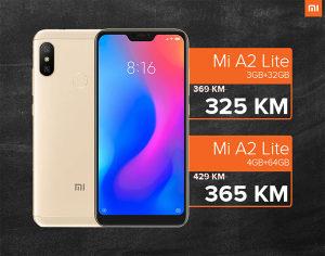 XIAOMI MI A2 LITE / 3GB RAM / 32GB ROM / DUAL SIM