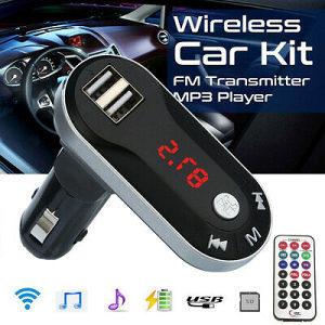 Transmiter MP3 FM za auto USB
