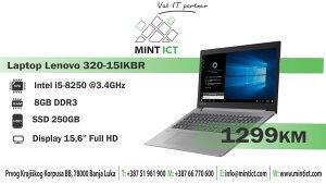 Laptop Lenovo IP 320-15IKBR i5-8250U/8GB/256GB/