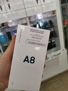 SAMSUNG GALAXY A8 32GB/4GB BLACK NOVO VAKUM