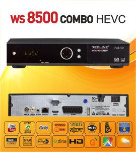 REDLINE WS 8500-SET 2 KOMADA +2 x CS 1 GODINA