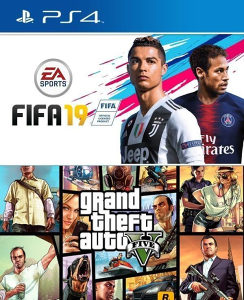 FIFA 19 + GTA 5 (PS4 - PlayStation) - www.igre.ba
