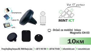 Držač za mobilni Inkax Magnetic CH-03