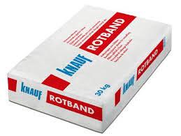 KNAUF ROTBAND 30 KG, GIPSANI MALTER