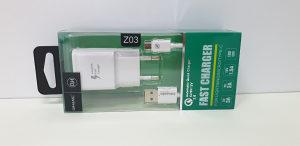 Brzi punjač za mobitel MICRO USB 3A Z03