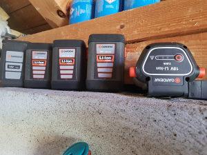 Baterija li ion gardena