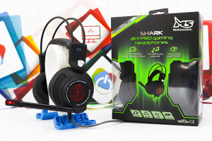 Gaming slušalice MS Shark PRO LED