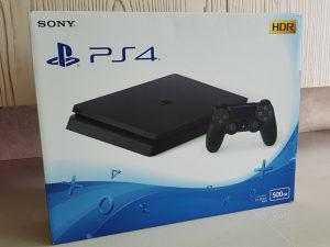 PlayStation 4 - Slim - 500 GB - NOV - Garancija
