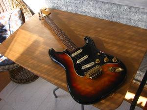Matsumoku Stratocaster 1976. - DiMarzio elektronika