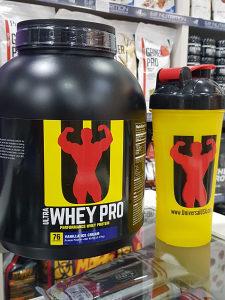 Universal Whey 2.27 kg + Shaker gratis