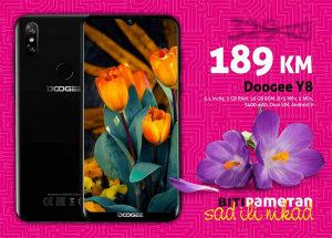 Doogee Y8 (X90L)|3gb+16gb|8 mpx (+5)+ 5 mpx | 3400mAh