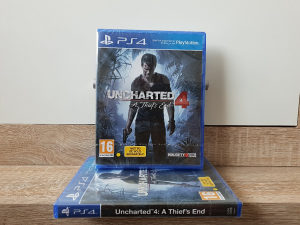 Uncharted 4: A Thief's End, PS4 - Playstation 4