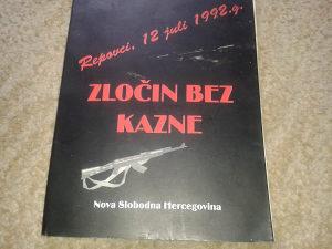 knjiga ratna..zlocin u Repovcima