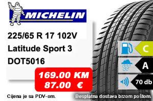 Auto Gume / guma 225/65 R17 102V LatitudeSport3