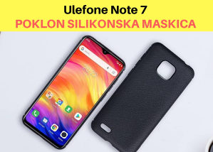 "Ulefone Note 7 - 6,1""HD - 16GB - 3500mah + 4 Kamere"