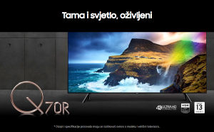 "Samsung 75Q70R 75"" QLED Q70R 4K TV QE75Q70RATXXH"