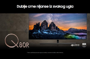 "Samsung 55Q80R 55"" QLED Q80R 4K TV QE55Q80RATXXH Smart"