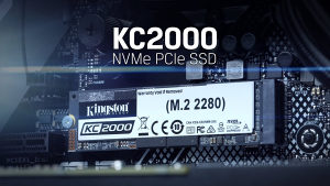 Kingston KC2000 500GB NVMe M.2 SSD
