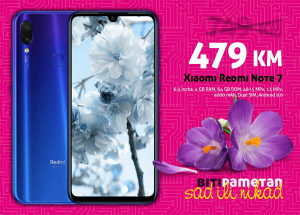 Xiaomi Redmi Note 7-6,3incha 4GB+64GB 48+5mpx 4000mAh