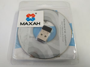 MAXAH Mini Wifi Dongle WLAN Dongle USB wifi Adapter