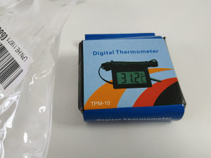 TPM-10 LCD Digital Thermometer and Humidity Meter Black