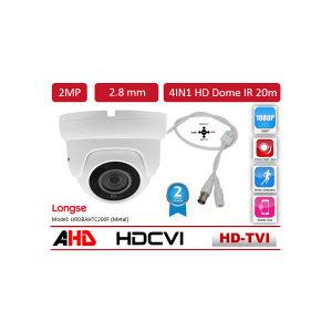 KAMERA DOME AHD/CVI/TVI/CVBS 2.0MP 2.8MM LONGSE