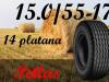 Gume za prikolicu 15.0/55-17