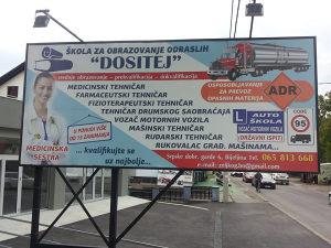 bilbord Bijeljina izdaj reklam MOBILNI/POKRETNI BILBORD