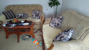Garnitura trosjed dvosjed i fotelja