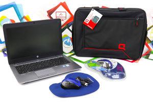Laptop HP 840 G2; Core i5-5300U; 8GB RAM; SSD 256GB