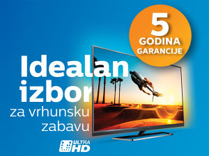 Philips 4K TV >>> GARANCIJA 5 GODINA, UHD akcija !!!