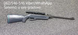Vazdusna puška sa optikom Zračna puška