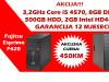 HP 800 G1/Fujitsu Esprimo P420 Core i5 4th gen.