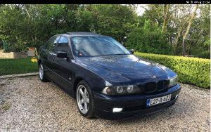 BMW E39 523i 2,5 LPG,šiber,manuel,koža