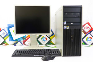 SET 99; HP DC7900 + Eizo S1921