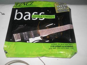 VINCI zice za BASS gitaru