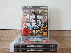 "Grand Theft Auto V GTA 5 PS3""Novo"""