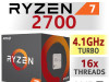 AMD Ryzen 7 AM4 2700 16x3.2-4.1GHz