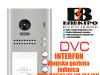 Interfon DVC pozivna jedinica sa četri tipke IP54