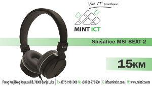 Slušalice MSI BEAT 2