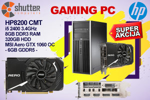 SUPER AKCIJA - GAMING PC - HP 8200 i5 - GTX 1060 6GB OC